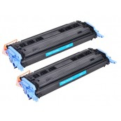 TonerGreen Cartridge 307 (9423A005AA) Cyan Compatible Printer Toner Cartridge Value Pack 2X